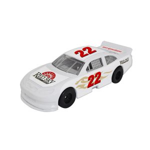 1/64 Scale Nascar Style Race Car - White w/ Full Graphics Package
