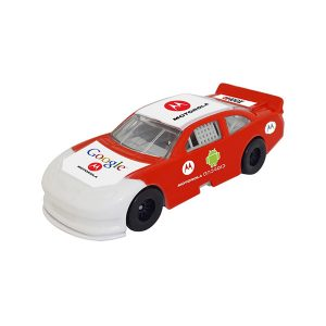 1/64 Scale Nascar Style Race Car - Red & White w/ Full Graphics Package