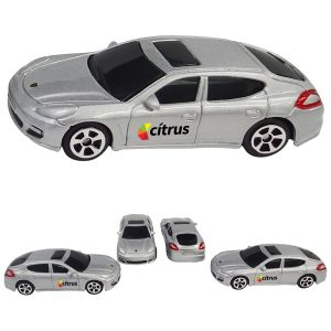 1/64 Scale Porsche Panamera (Full Color Graphics Both Doors - Same Logo)