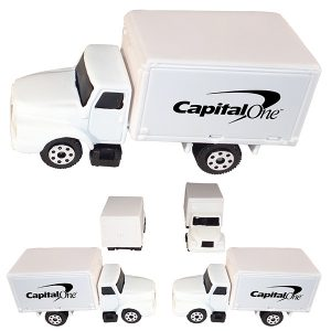 1/64 Scale Box Truck - White