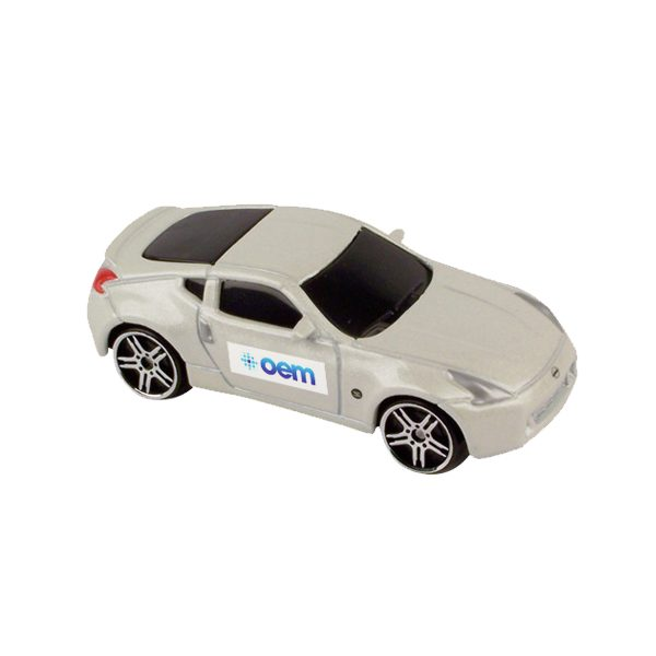 1/64 Scale Nissan 370Z (Full Color Graphics Both Doors - Same Logo)