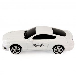 Mustang 1:64 Scale White