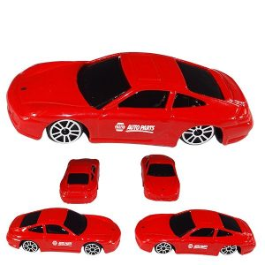 Porsche C4S 1:64 Scale Red