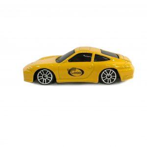 Porsche C4S Coupe Yelllow 1:64