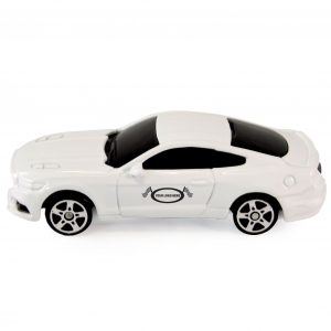 White Mustang GT 2015 1:64 Scale