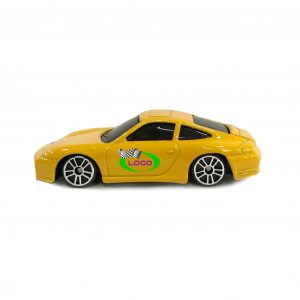 Porsche C4S Coupe Yelllow 1:64